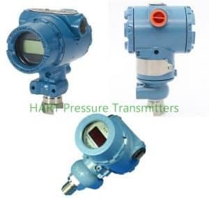 HART pressure transmitters