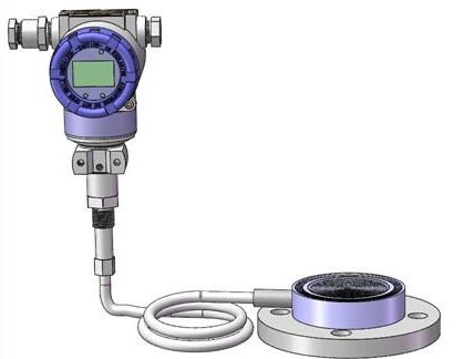 Diaphragm seal system pressure transmitters 2