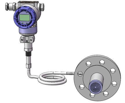 Diaphragm seal system pressure transmitters 3
