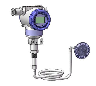 Diaphragm seal system pressure transmitters 5