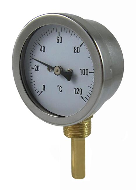 BOTTOM CONNECT BIMETAL THERMOMETER