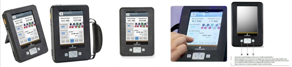 Emerson AMS TREX Device Communicators