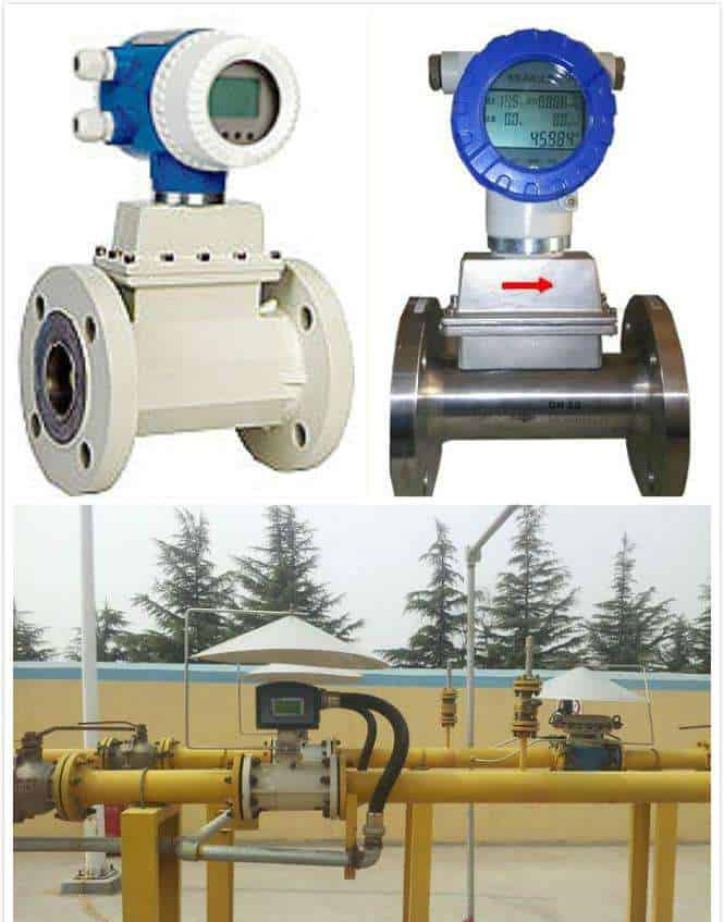 Gas Turbine Flow Meters applications
