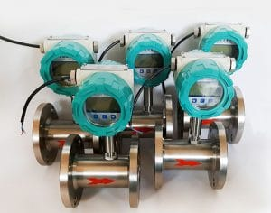 Liquid Turbine Flow Meters