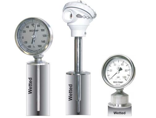 Sanitary Bimetal Thermometers
