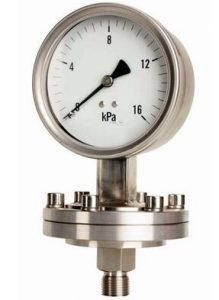 SI-D100 Diaphragm pressure gauge