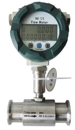 SI-LWGY Sanitary turbine flow meter