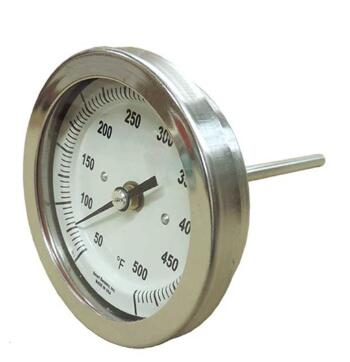 SI-WSS Back Connect Bimetal Thermometer
