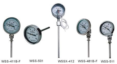 SI-WSS Adjustable Angle Bimetal Thermometer