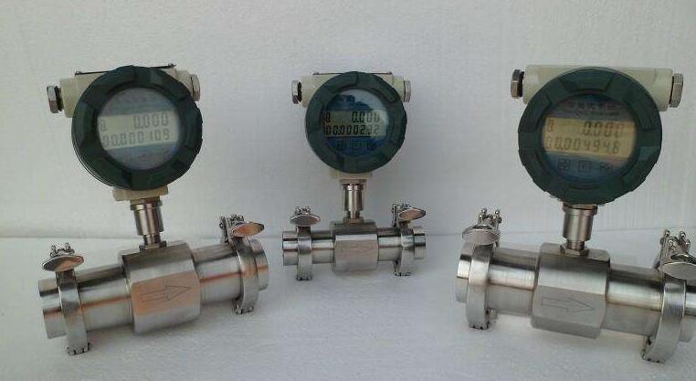 Sanitary flow meters