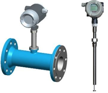 Thermal mass flowmeters