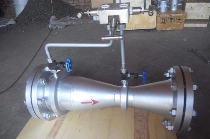 Venturi meter principle