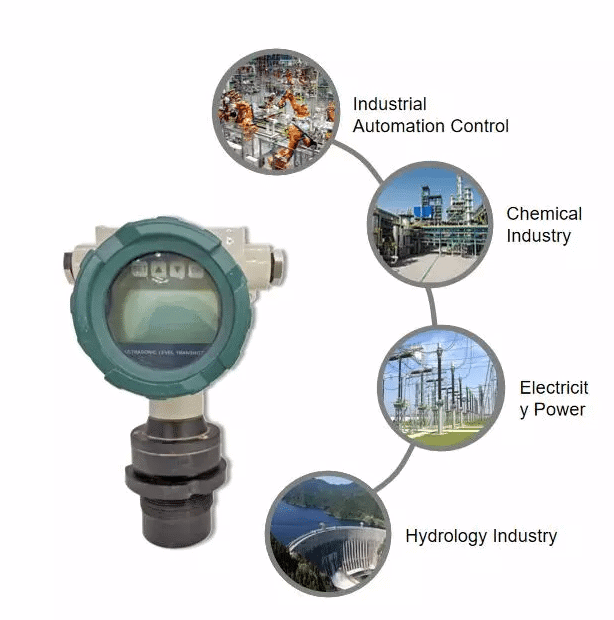 Applications of  Ultrasonic Level Transmitters