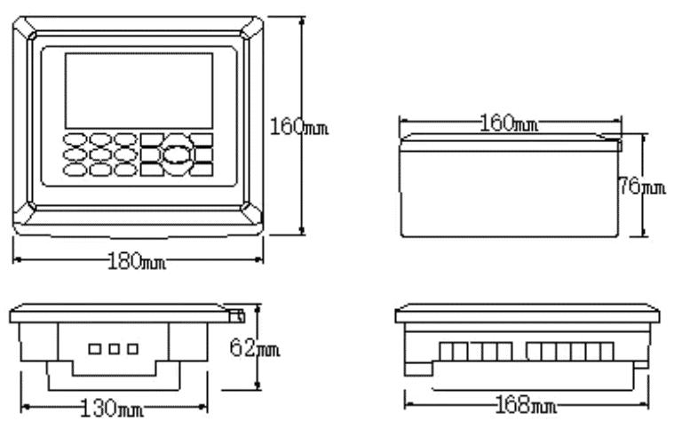 ULT-200A Ultrasonic fuel tank level sensor