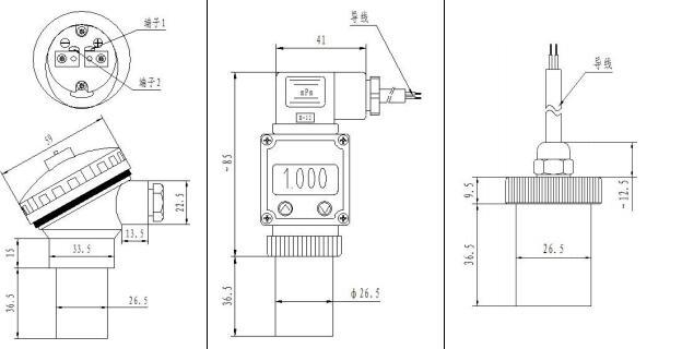 Si 300 Pressure Transducer 4 20ma Voltage