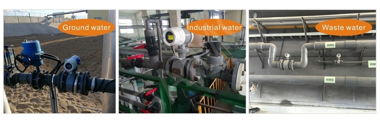 Application electromagnetic flow meter