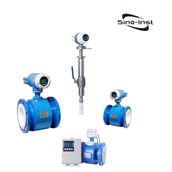 Electromagnetic flowmeter as waste water flowmeter