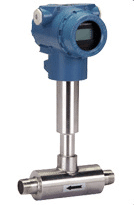 Threaded target flowmeter
