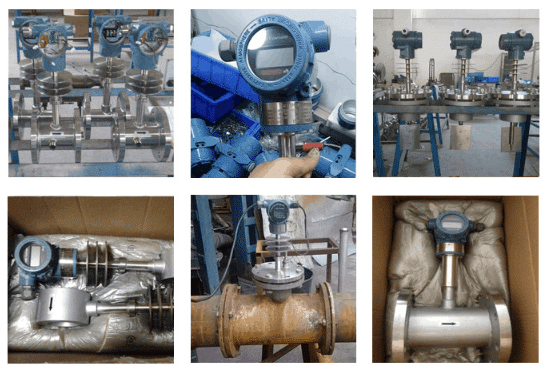 Target flow meters applicaiton