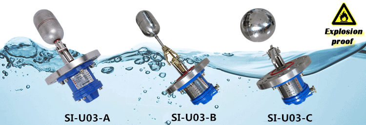 Types of SI-U03 Float Switch Water Level Controller