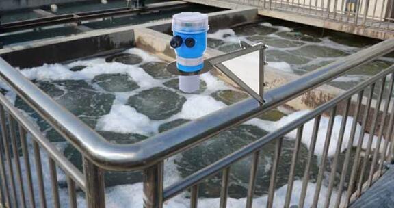 ltrasonic level sensor wastewater