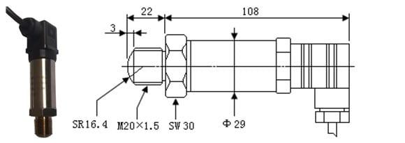 SI-702Q-Ultra-High-Pressure-Sensor