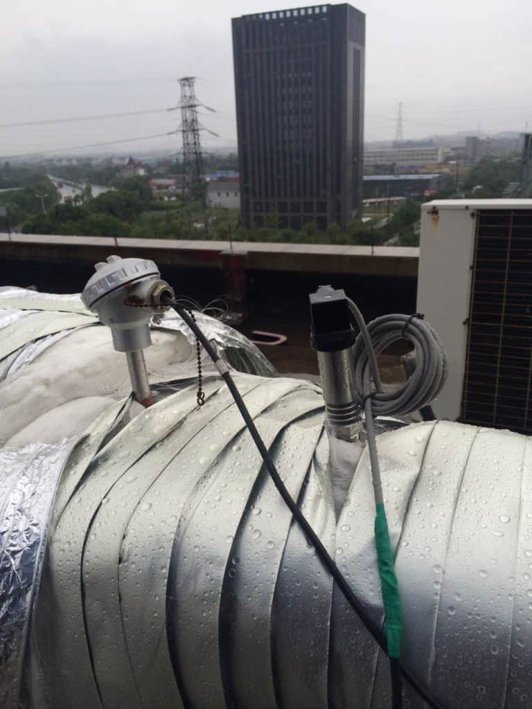 Application of high temperature pressure transmitter in steam pipeline