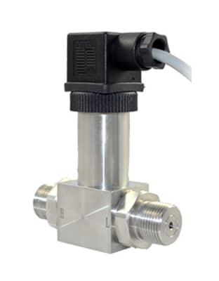Transmitter installation detail pressure Water Pressure
