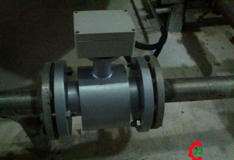 Electromagnetic-Flow-Meter-for-Sewage-1