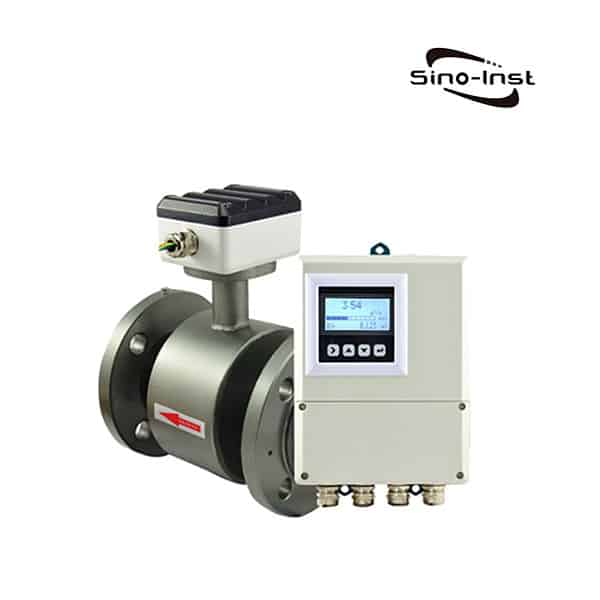 Remote Magnetic Sewage Flow Meter