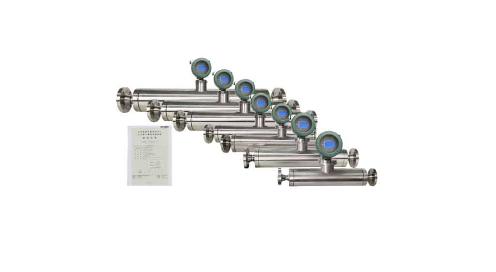 Straight Tube Micro Motion Coriolis Flow Meter
