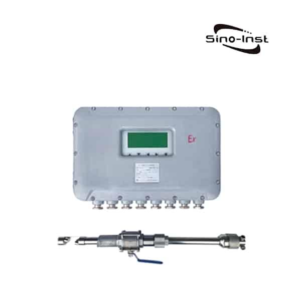 A-S-single-rod-plug-in-Ultrasonic-Gas-Flow-Meter