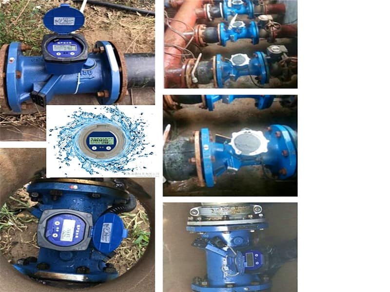 High-precision Ultrasonic Water Meter for Water management