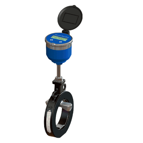 Insertion Ultrasonic Water Flow Meter-Old Style