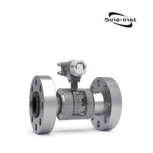 Magnetic high pressure flow meter