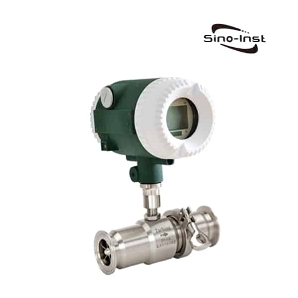 Turbine Sanitary flow meter