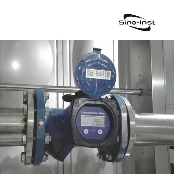Ultrasonic Water Meter installation