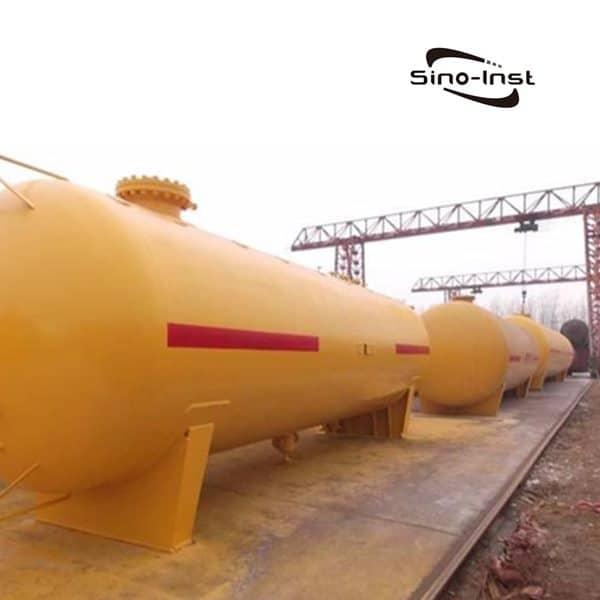 Level Measurement: Liquid Chlorine Storage Tanks