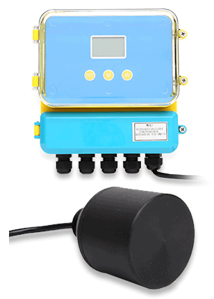 Split type ultrasonic level meter.png