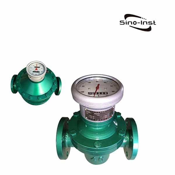 Pointer Type Oval Gear Flow Meter