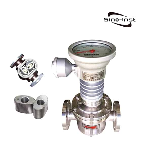 High Temperature Oval Gear Flow Meter - heating oil flow meter- Bitumen - Paraffin