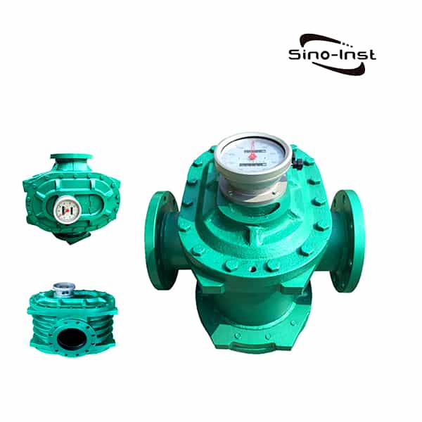 Large diameter Oval Gear Marine Fuel Flow Meter