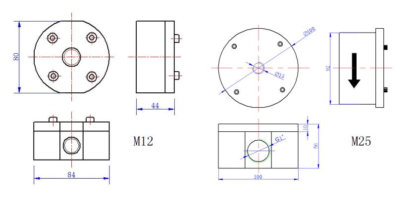 Micro Flow Meter Dimension 3
