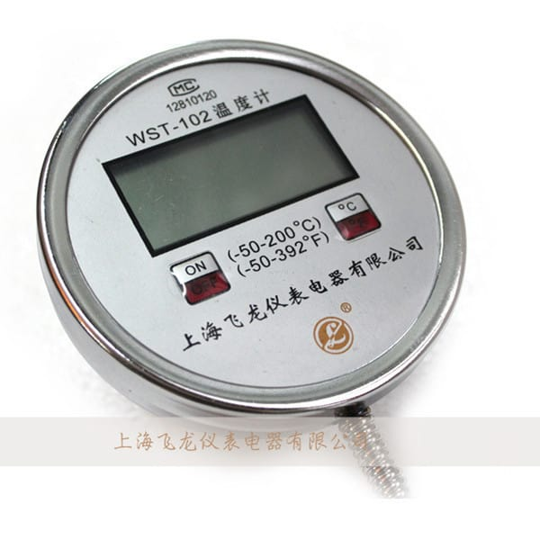 Digital-display-bimetal-thermometer