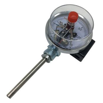 Electric-contact-bimetal-thermometer