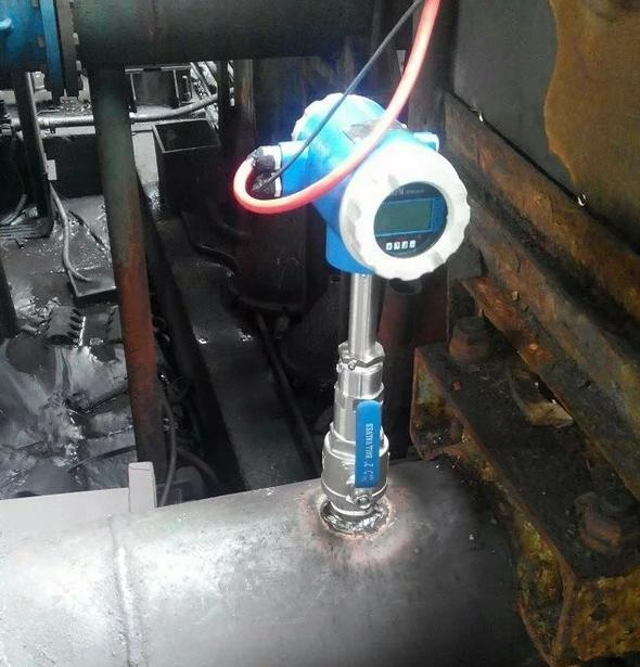 Insertion flow meter-magnetic