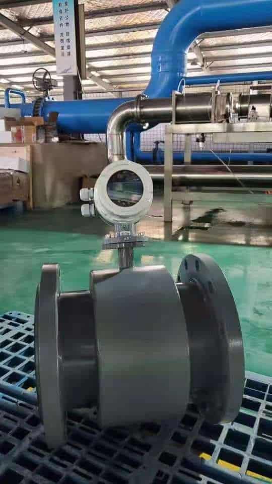 Magnetic flow meter detail 2