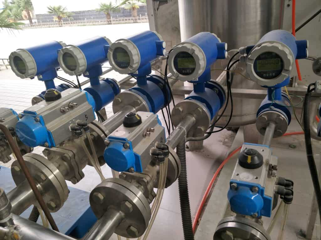 Magnetic flow meter installation guidelines