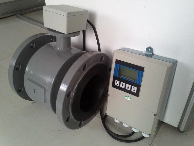 Remote flowmeter magnetic