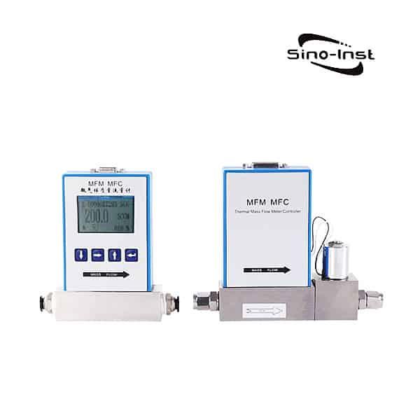 Gas mass flow controller